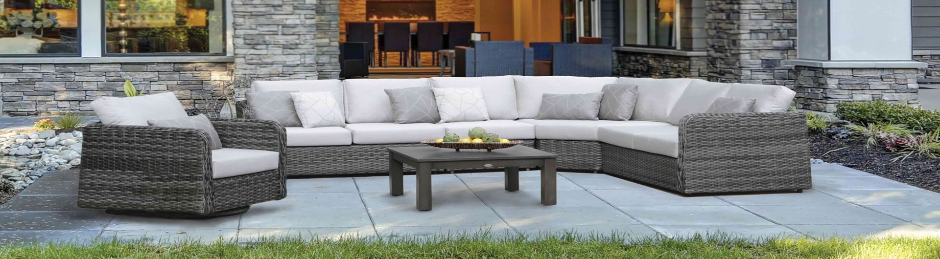 Isola Island Sectional Collection