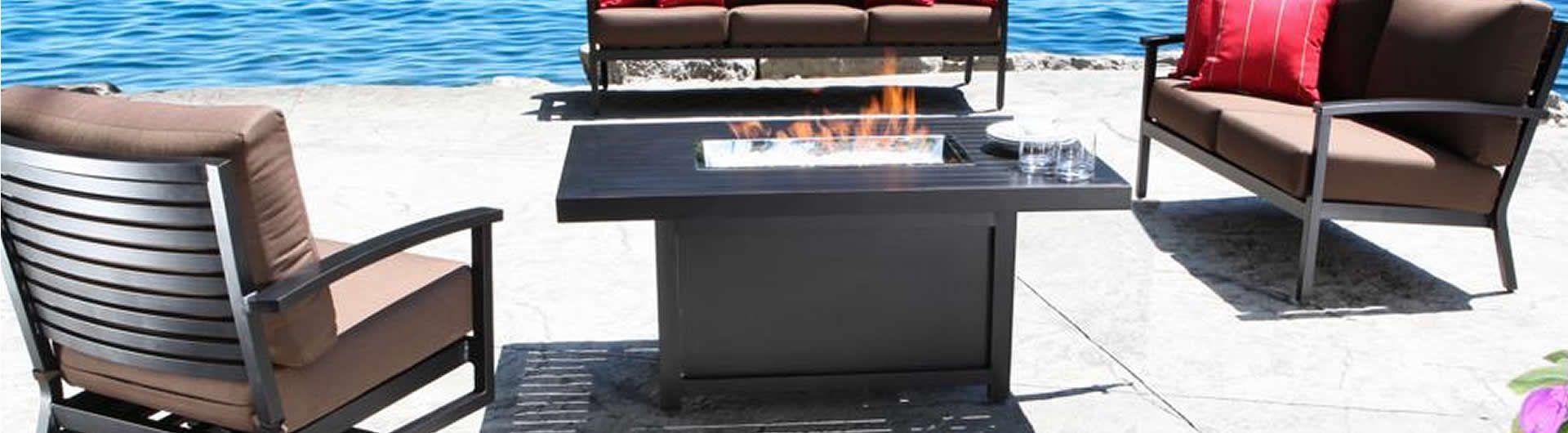 Monaco Firepit Collection