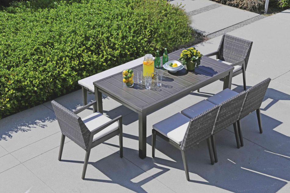Patio Dining Cape Town Dining Side Chair Fn55211stg C