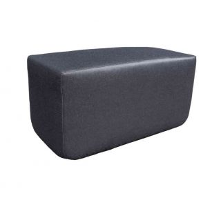 Product Name: York : Outdoor Pouf Bench
