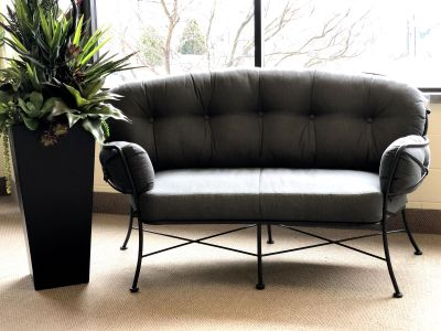 Product Name: Cambria Crescent Loveseat